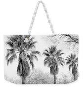 Three Palms Weekender Tote Bag