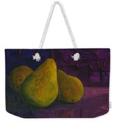 Three Pears Weekender Tote Bag