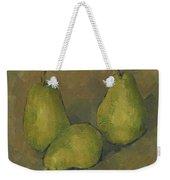 Three Pears Weekender Tote Bag