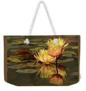 Three Perfect Lilies Weekender Tote Bag