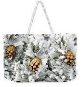 Three Pinecones Weekender Tote Bag
