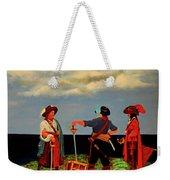 Three Pirates Weekender Tote Bag