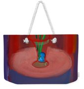 Three Poppies In A Vase Weekender Tote Bag