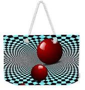 Three Red Balls Weekender Tote Bag
