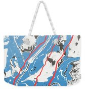 Three Roads And Four Islands Weekender Tote Bag