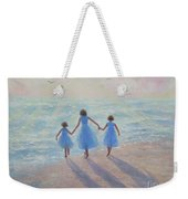 Three Sisters Beach Weekender Tote Bag