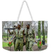 Three Soldiers Memorial Weekender Tote Bag