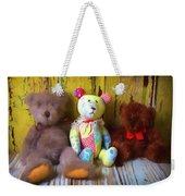 Three Special Bears Weekender Tote Bag