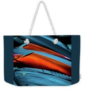 Three Sport Car Hoods Abstract Weekender Tote Bag