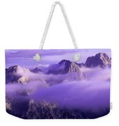 Three Summits. Julian Alps Weekender Tote Bag