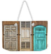Three Taos Doors Weekender Tote Bag
