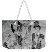 Three Tenors And A Pianist Weekender Tote Bag