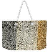 Three Textures Weekender Tote Bag