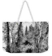 Three Trees Bw Weekender Tote Bag
