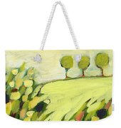 Three Trees On A Hill Weekender Tote Bag by Jennifer Lommers