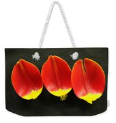 Three Tulip Petals Weekender Tote Bag