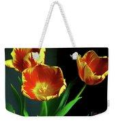 Three Tulips Photo Art Weekender Tote Bag