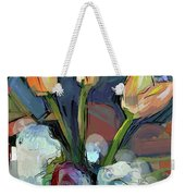 Three Tulips Weekender Tote Bag