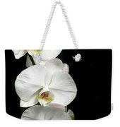 Three White Orchids Weekender Tote Bag