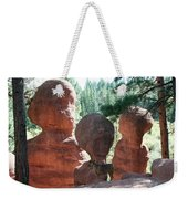 Three Wise Men And A Dog Weekender Tote Bag