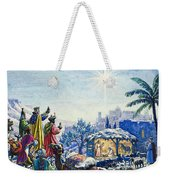 Three Wise Men Weekender Tote Bag by Unknown
