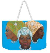 Three Women Weekender Tote Bag
