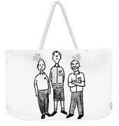 Three Workers Weekender Tote Bag