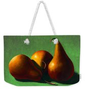 Three Yellow Pears Weekender Tote Bag