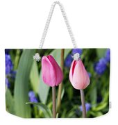 Three Young Tulips Weekender Tote Bag