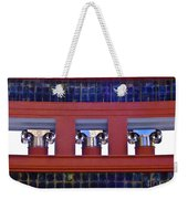 Threereflective Columns Weekender Tote Bag