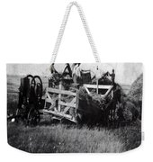 Threshing Day Weekender Tote Bag