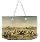 Threshing Wheat In Algeria Weekender Tote Bag