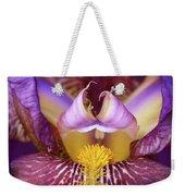 Throat Of The Iris Weekender Tote Bag