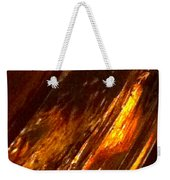 Through A Glass Darkly 3 Abstract Weekender Tote Bag