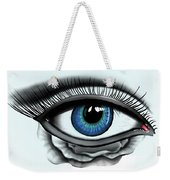 Through My Eye Weekender Tote Bag