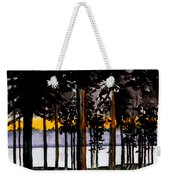 Through My Woods Weekender Tote Bag
