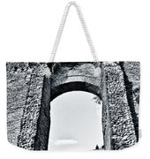 Through The Arch In A Sicily Ruin Weekender Tote Bag