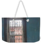 Through The Bars She Saw Her Freedom Weekender Tote Bag