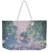 Through The Blizzard Weekender Tote Bag