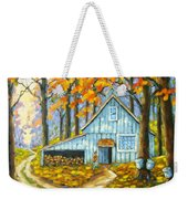 Through The Deep Woods Weekender Tote Bag