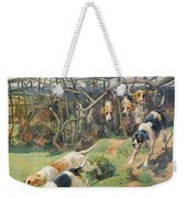 Through The Fence Weekender Tote Bag by Arthur Charles Dodd
