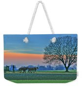 Through The Fields Weekender Tote Bag