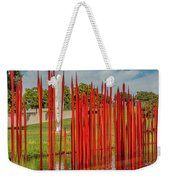 Through The Glass Rods Weekender Tote Bag