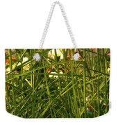 Through The Grass Curtain Weekender Tote Bag