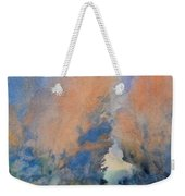 Through The Hole In The Trees Weekender Tote Bag