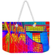 Through The Kaleidoscope Wormhole Weekender Tote Bag