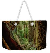 Through The Knothole Weekender Tote Bag