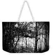 Through The Lens- Black And White Weekender Tote Bag