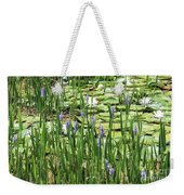Through The Lily Pond Weekender Tote Bag