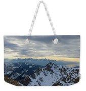 Through The Mountains  Weekender Tote Bag